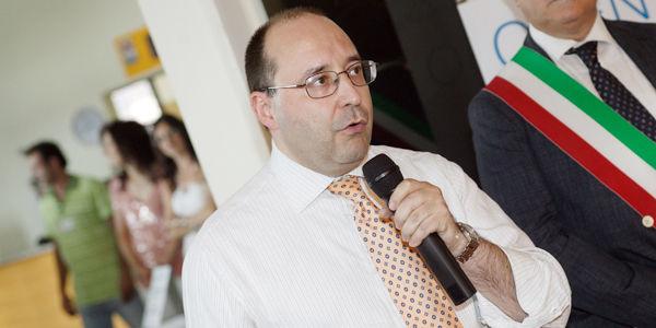 L'ing. Matteo Volpe, Direttore Generale IGV Group, durante l'intervento di apertura dell'Open Day IGV