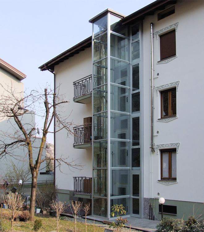 Costo ascensore esterno 1 piano best metalliche per - Costo cappotto esterno condominio ...