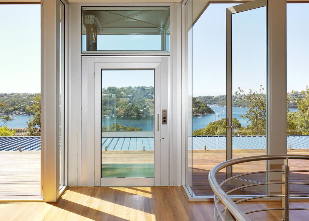 Le nostre installazioni: homelift vetrato