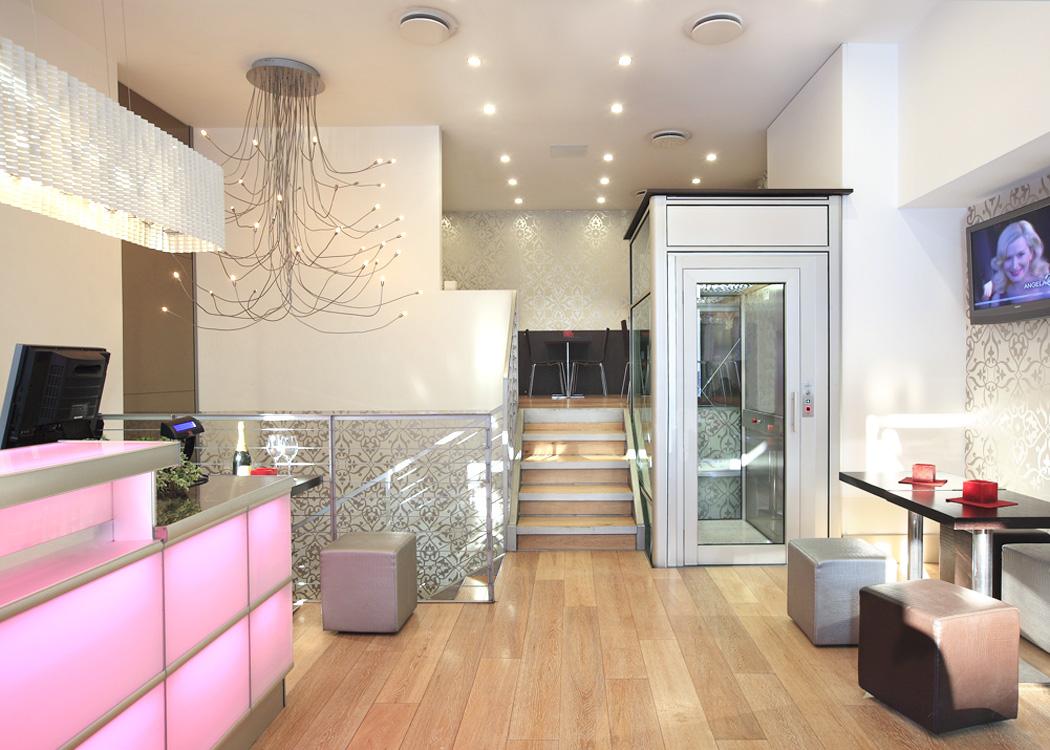 Le nostre installazioni: ascensori in ristoranti