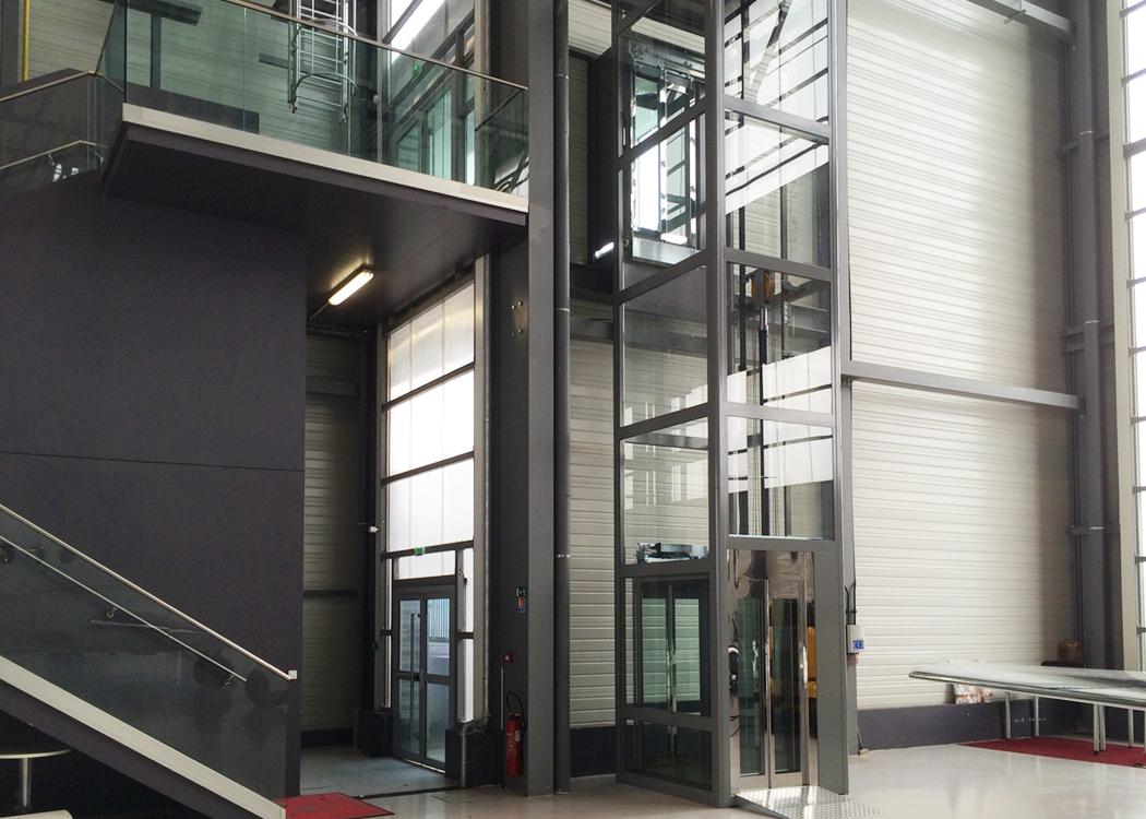 Le nostre installazioni: elevatore DomusLift