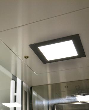 Ascensori a risparmio energetico con illuminazione a LED DomusLift