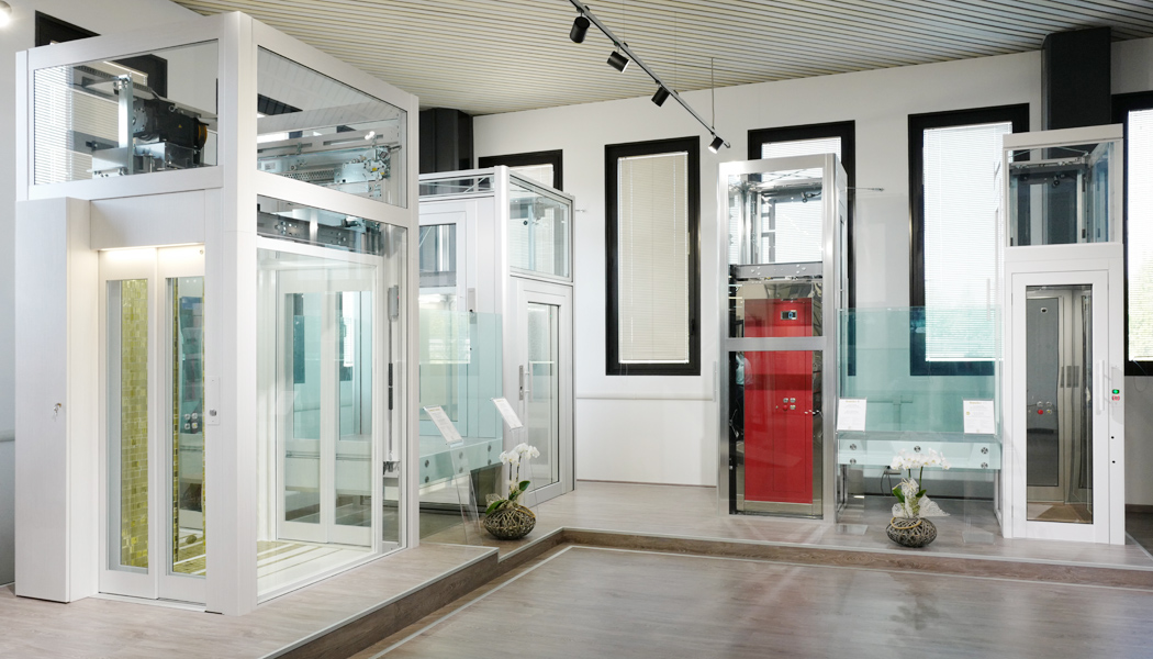 Showroom ascensori e elevatori DomusLift