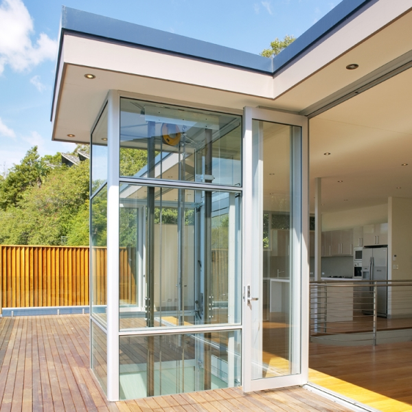 Le nostre installazioni: homelift panoramico