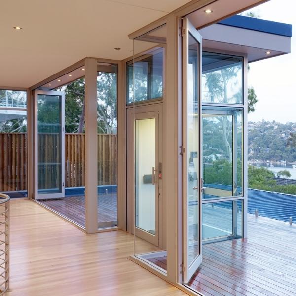 Le nostre installazioni: piattaforma elevatrice panoramica