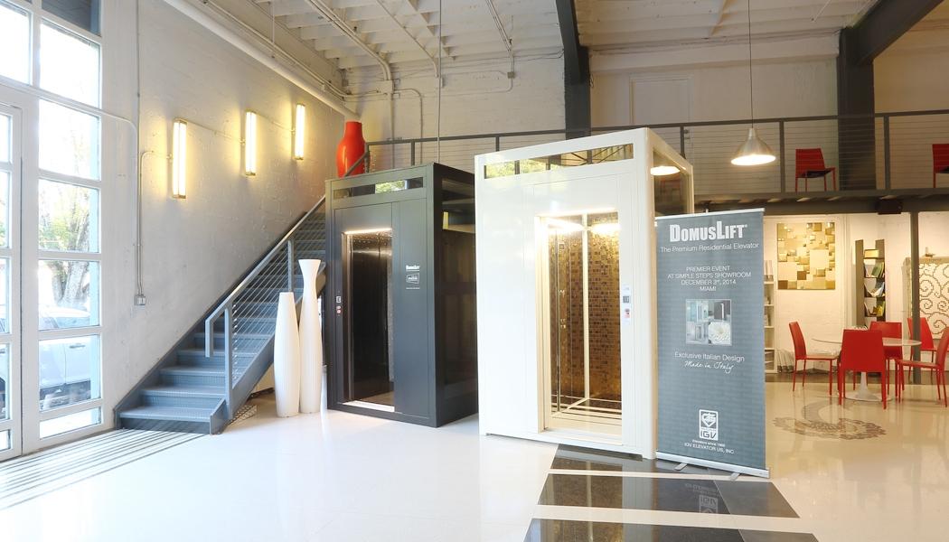 Showroom ascensori e piattaforme elevatrici IGV Group